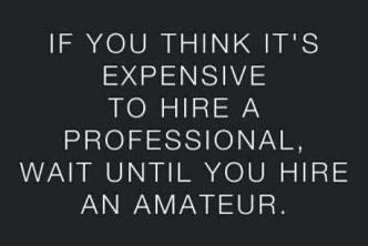 Hire-a-professional